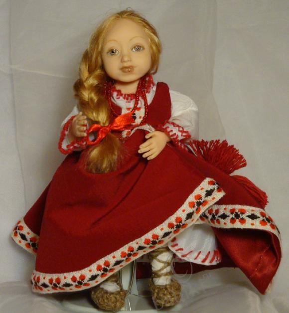 Авторская кукла - Маша, моя работа
