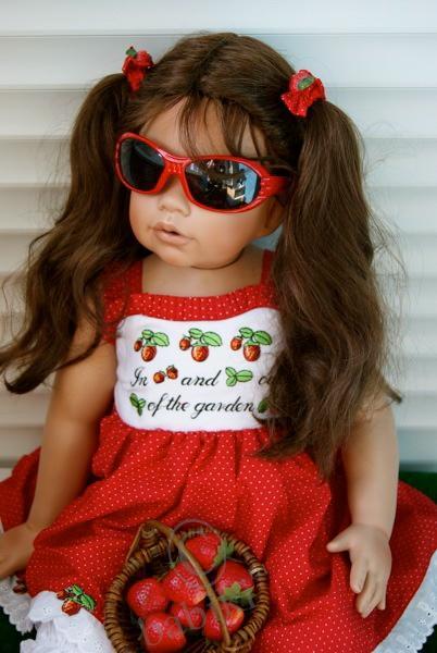 Моя ненаглядная красавица. Коллекционная кукла от Моники Левениг