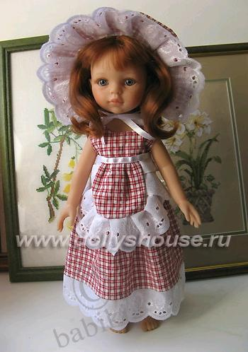 Новое платье моей красавицы Дашули! Кукла от Паолы Рейна