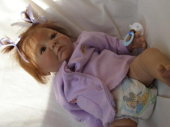 Моя красавица - куколка реборн Обри