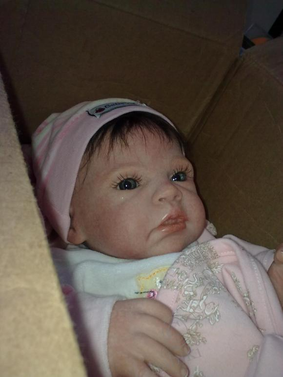 Наша Ангелина - куколка реборн, молд Bronwyn