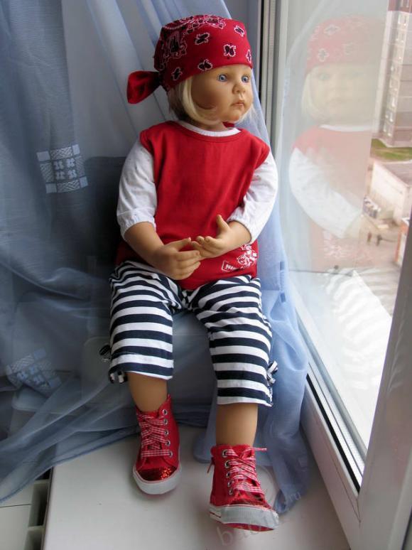 Мои девочки, сегодня Ульрика и Мишелька - коллекционные куклы от Zapf