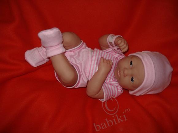 Лукерья - подарок мужа! Newborn baby doll designed by Berenguer