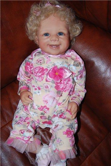 Коллекционная кукла Жасминка - сестра Ванессы