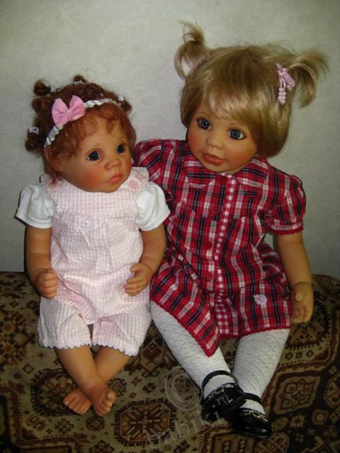 Кукла Сиси от Герлинде Фезер