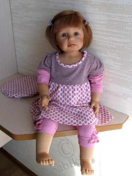 Мишелька - коллекционная кукла ZAPF - часть вторая .  Добавила общие фото всех запфиков!