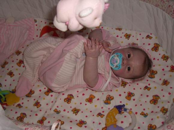 Знакомьтесь: моя малышка реборн Юльхен! Наши первые фото