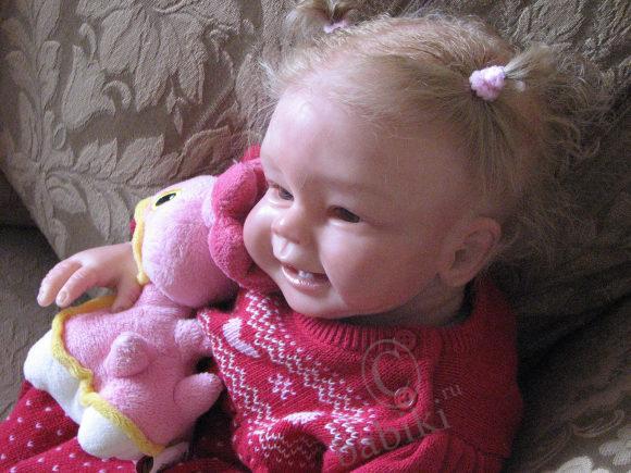 Кукла реборн анжелика