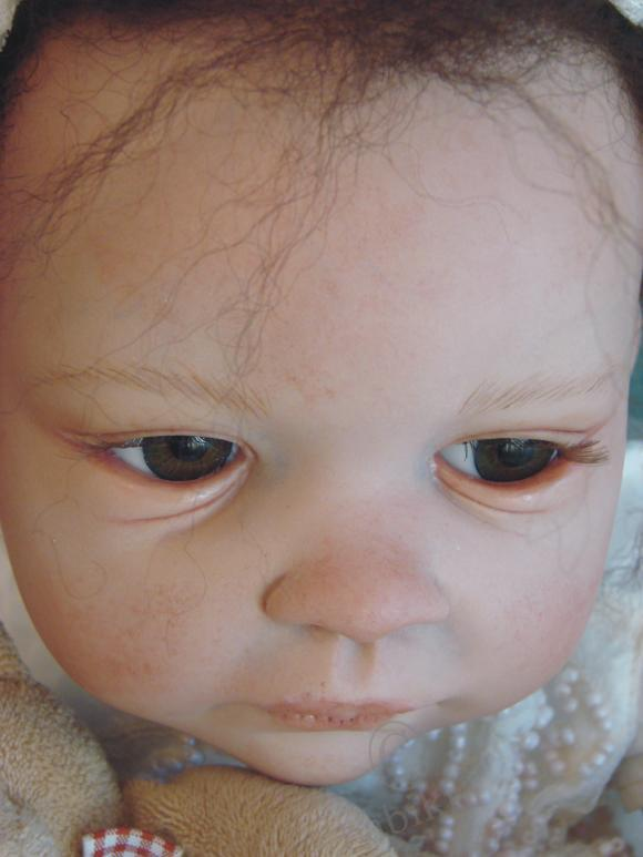 Моя мулаточка - куколка реборн Luna! Маленькое, смуглое чудо