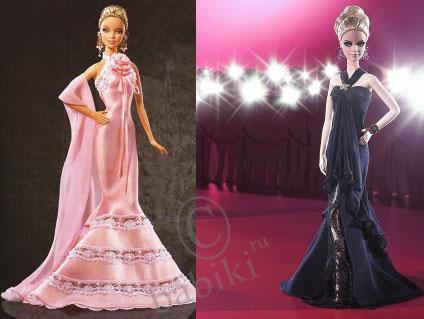 Бальные платья для барби кукол