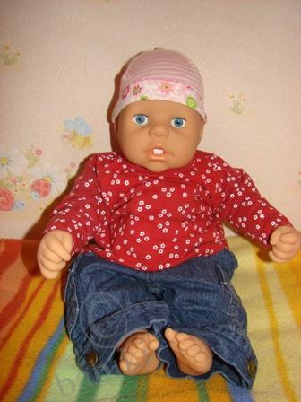 Наша Шушунька - кукла Шушу от Запф