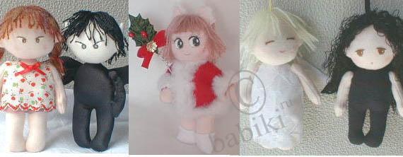 Шьем текстильную куклу своими руками