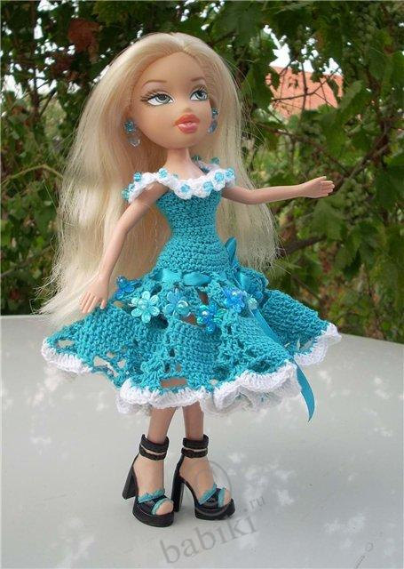 Платья для кукол братц своими руками