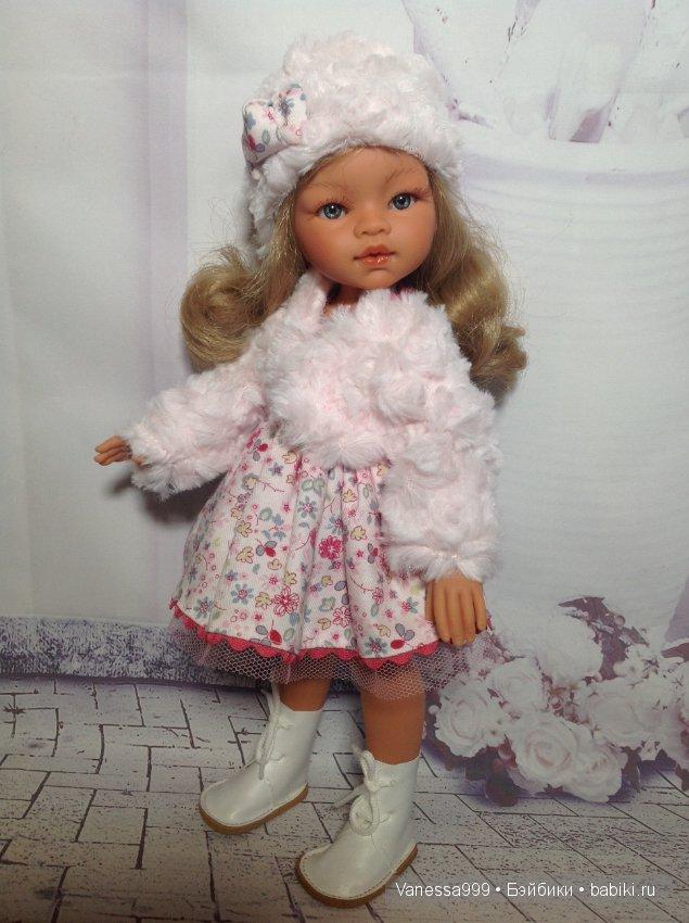 Кукла antonio juan эмили зимний образ