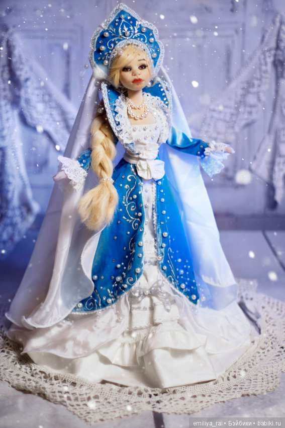 Фото куклы снегурочки
