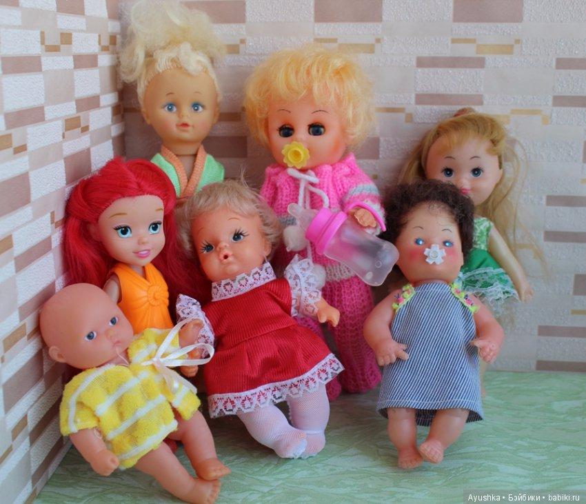 картинки где много кукол крупнейшей