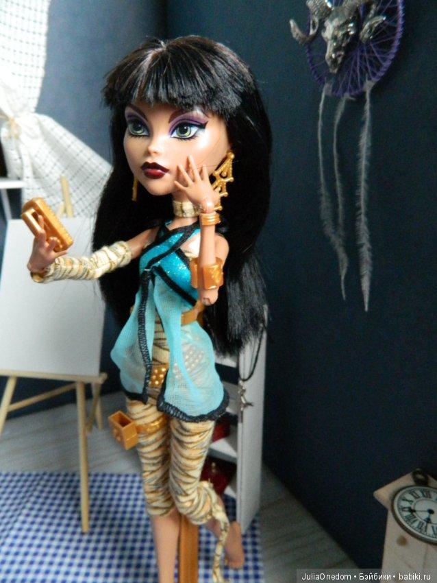Кукла монстер хай базовая клео