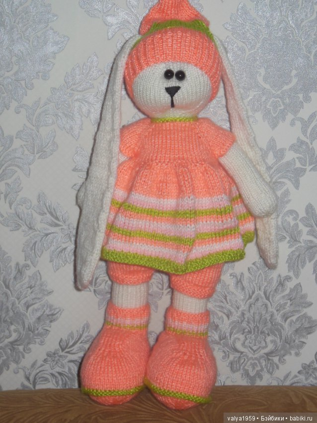 вязаные зайцы тильды авторские игрушки шопик продать купить