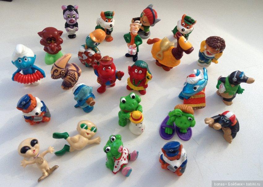 новозеландских киндер сюрприз все игрушки картинки что
