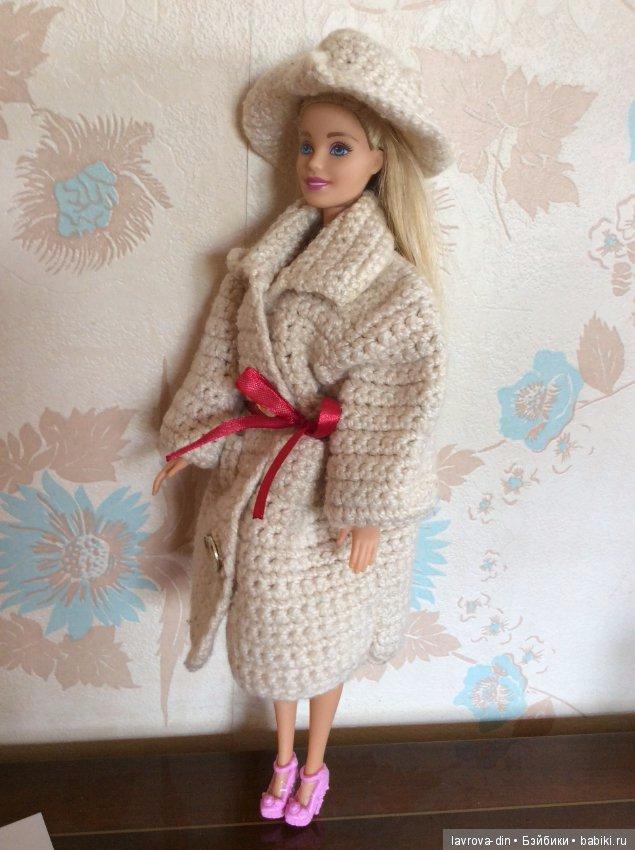 Фото схема вязания пальто для барби спицами