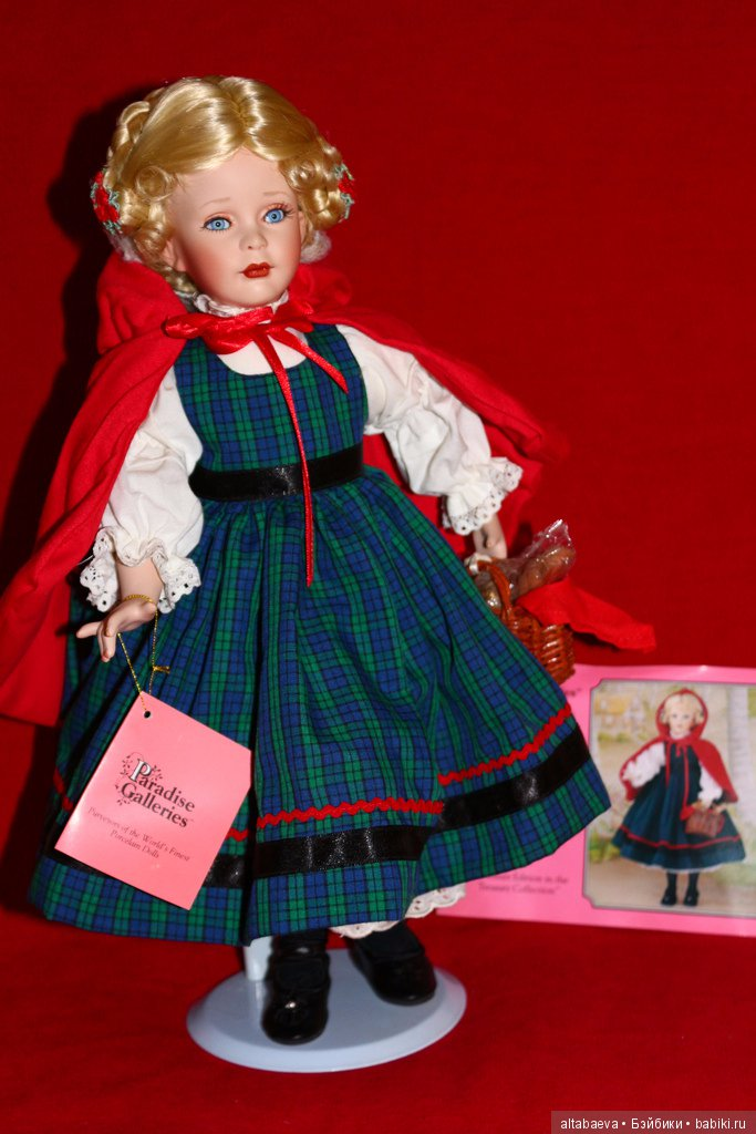купить фарфоровую куклу красная шапочка что