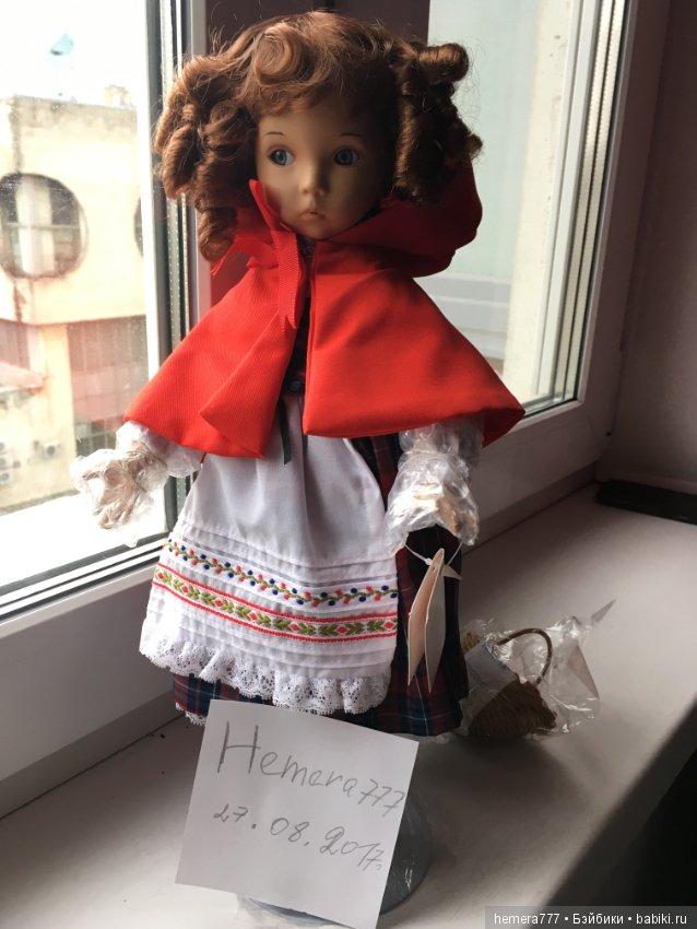 купить фарфоровую куклу красная шапочка если
