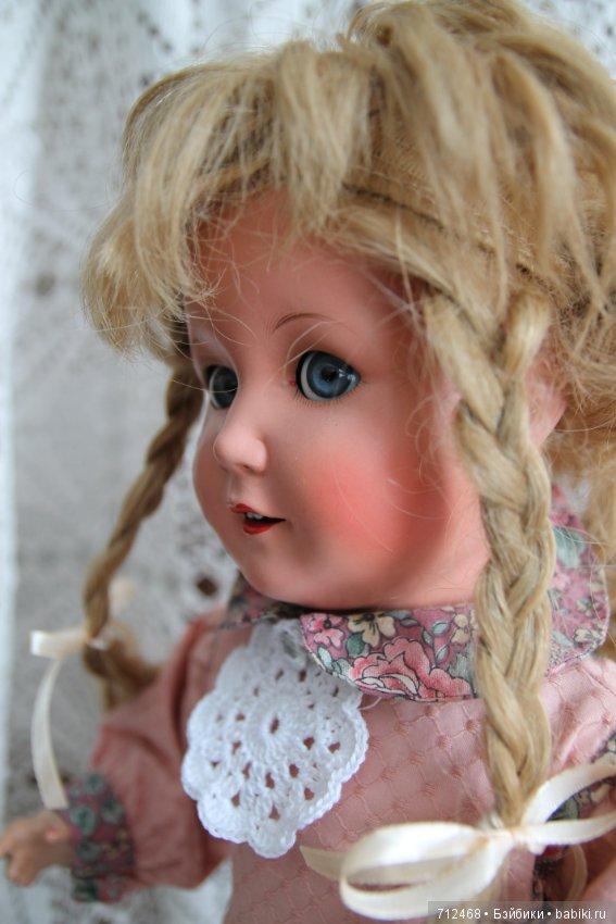 Румяным куклу