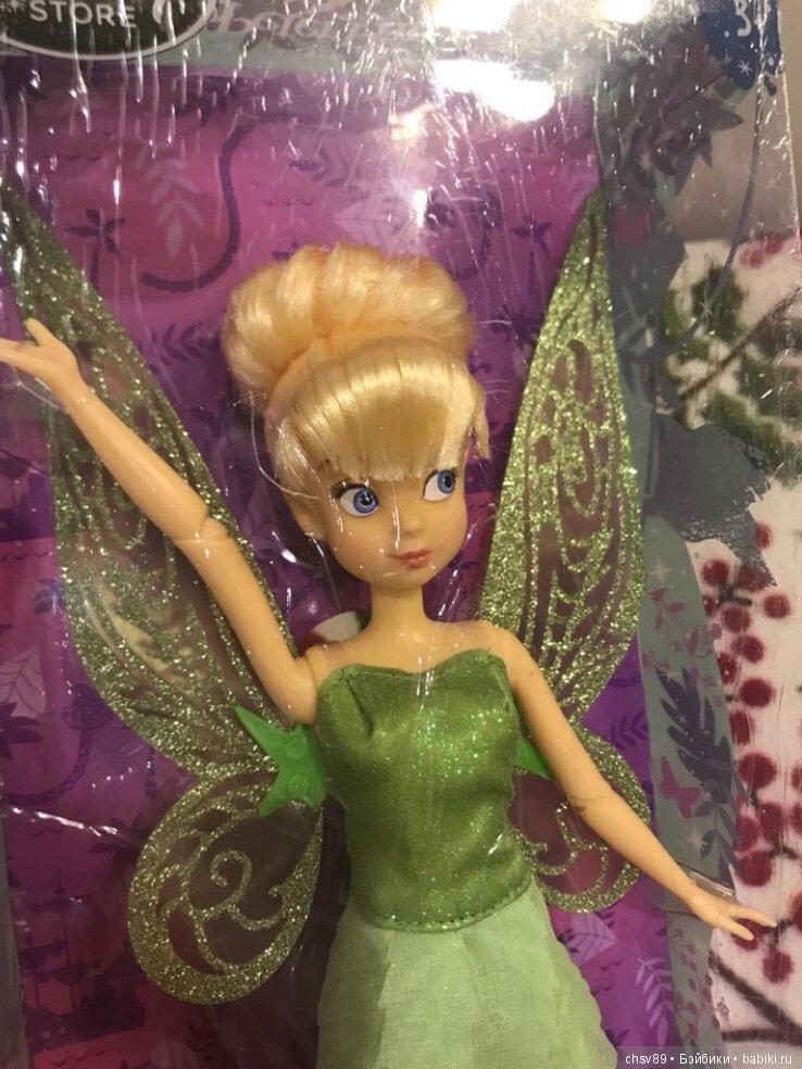 Кукла фея динь шарнирная детальные фото