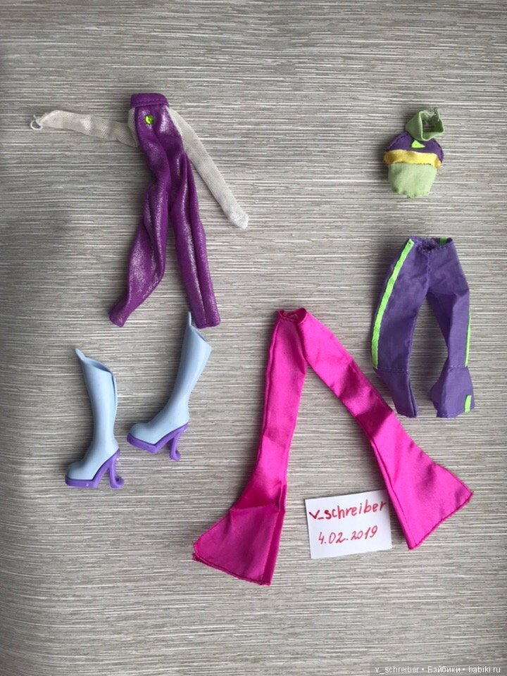 1a0936a9425 одежда от кукол Winx Mattel   Одежда для кукол   Шопик. Продать ...
