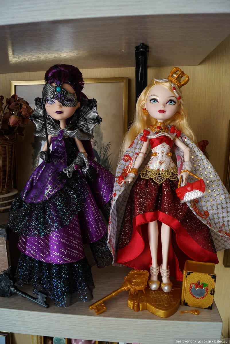 картинки эвер афтер хай коронация куклы могут легко испортить