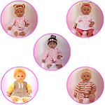 Малышки от Baby so Real (Тася, Нюша, Нюта, Уля, Маша)