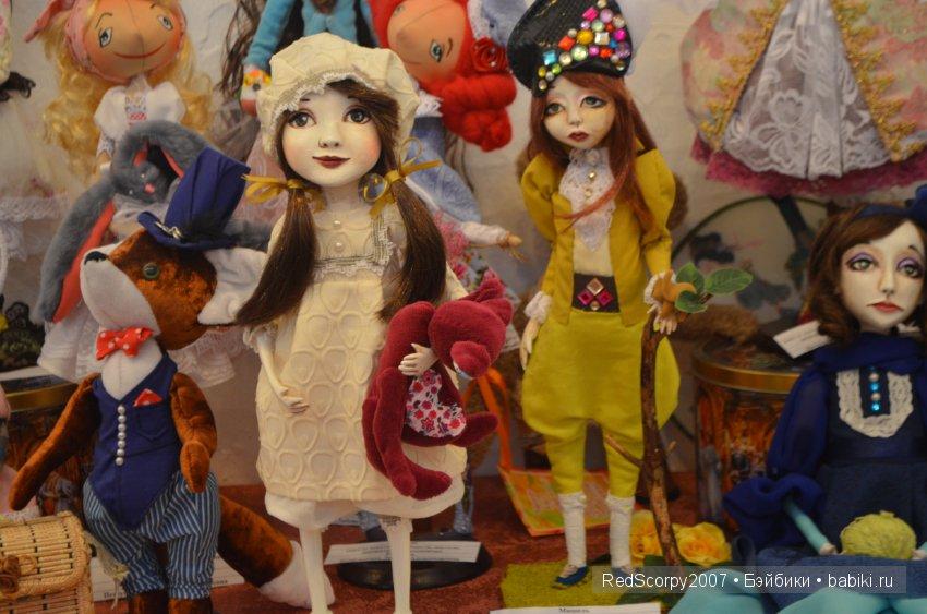 Время кукол 19. Международная выставка кукол и мишек Тедди. Санкт-Петербург, 24-28 мая 2017. Анонс