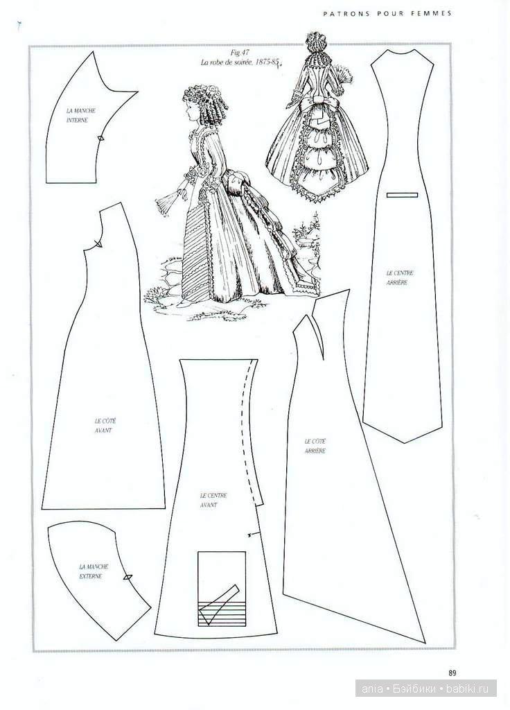 хотят выкройки нарядов для кукол с фото психология свадьбы пар