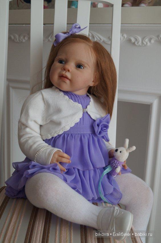 Как сделать лицо куклы из молда 2