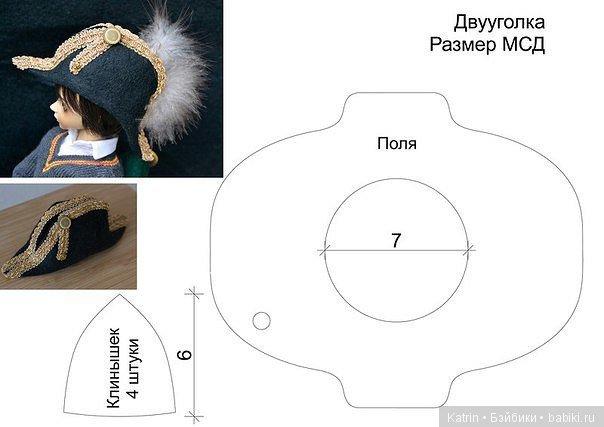 Выкройки для вязания шапочки