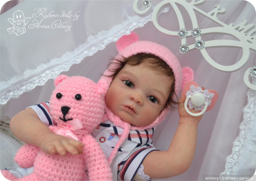 Кукла реборн диана