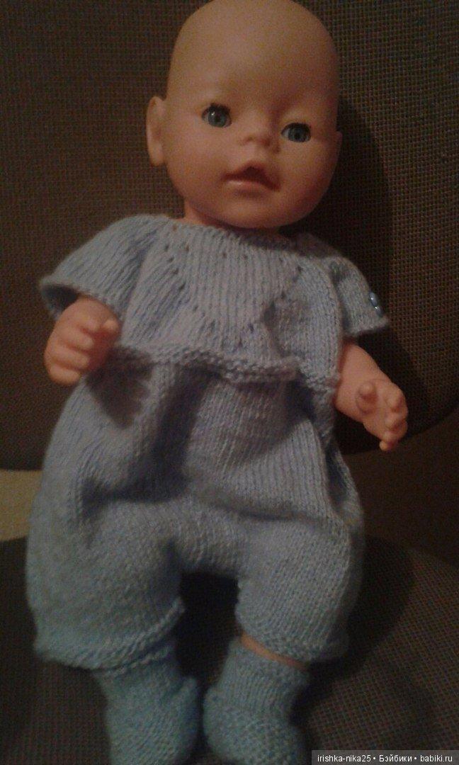 вязание спицами одежды для куклы беби бон одежда и обувь для кукол
