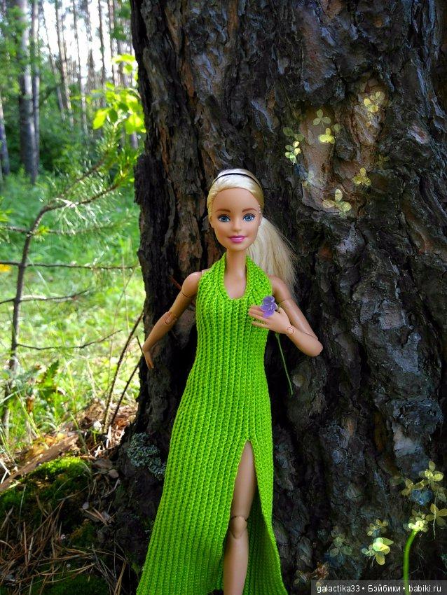Фото наших кукол на природе