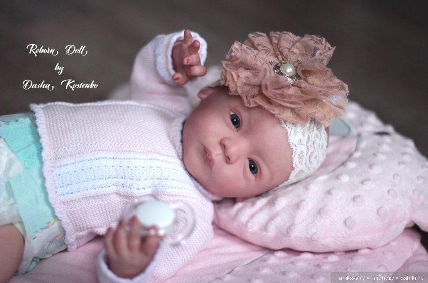 Реборн кукла даша