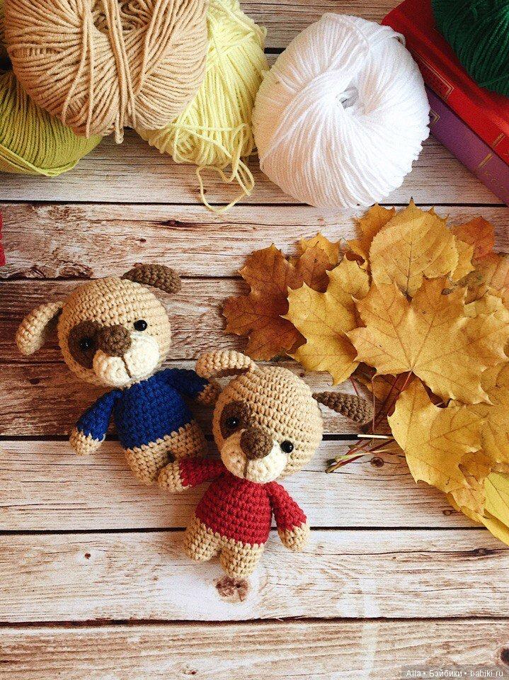вязаные собачки описание схемы вязания игрушек бэйбики куклы
