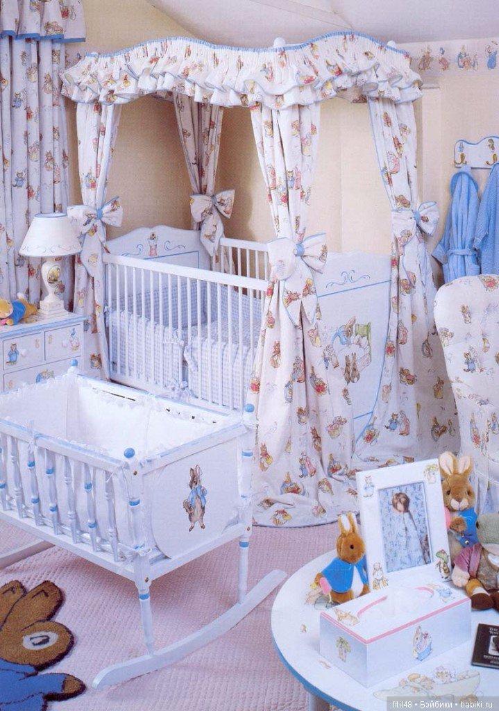кроватку малыша руками украшаем своими