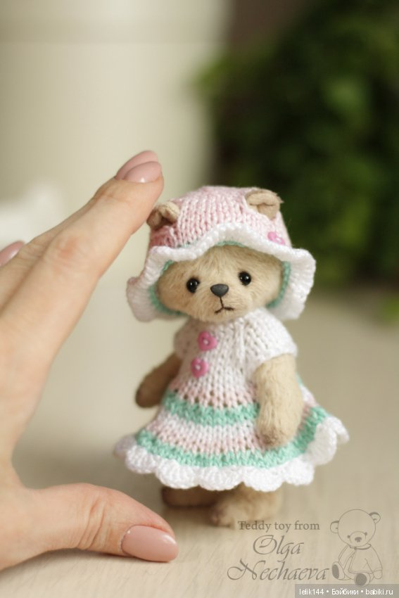 Мишка малышка Ася