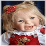 Улыбашечка Ханни - коллекционная кукла от Inge Tenbusch