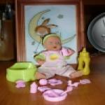 Mini new born baby