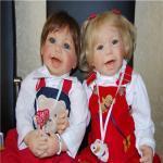 Воссоединение немецкого брата и сестры на московской земле. Коллекционные куклы Ханни и Ханзи