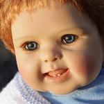 Толстун Баська - коллекционная кукла Бастиан от K.Schneider & R.Kunz для Heart & Soul